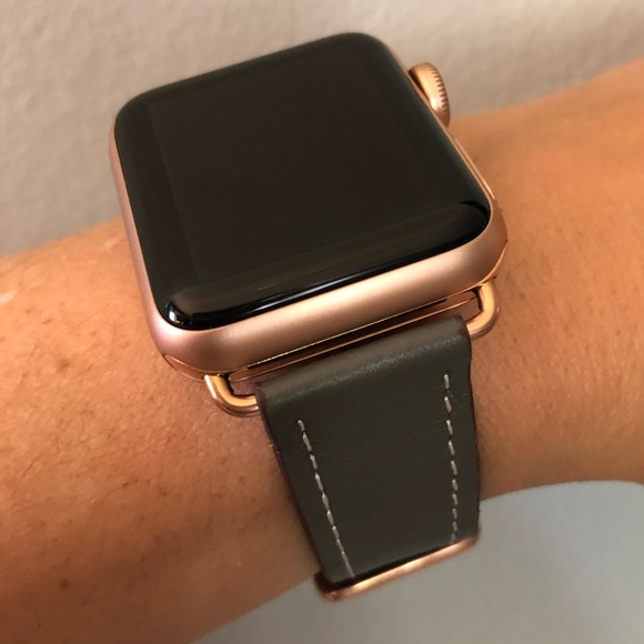 Other Rose Gold Gray Apple Watch Replacement Band Poshmark